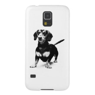 Dachshund Ink Drawing Galaxy S5 Cover