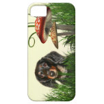 Dachshund iPhone 5 Protectores