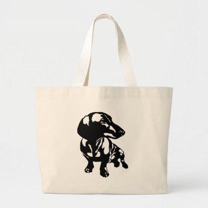Dachshund Jumbo Tote Bag