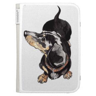 dachshund kindle cover.