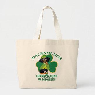 Dachshund Leprechaun Bag