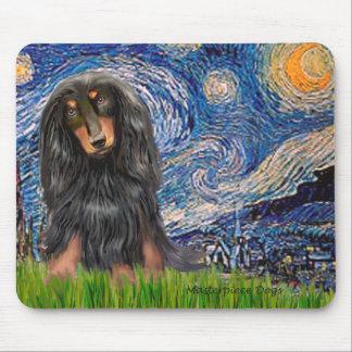 Dachshund (LHBT) - Starry Night Mouse Mats
