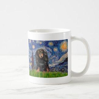 Dachshund (LHBT) - Starry Night Mug