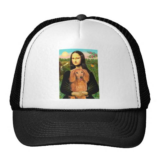 Dachshund (LHSable) - Mona Lisa Trucker Hat