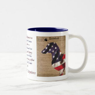 Dachshund Liberty Mug