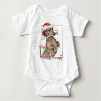 Dachshund Lilly's Candy Canes Tee Shirt
