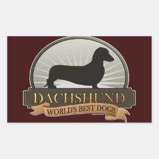 Dachshund [liso] rectangular altavoces