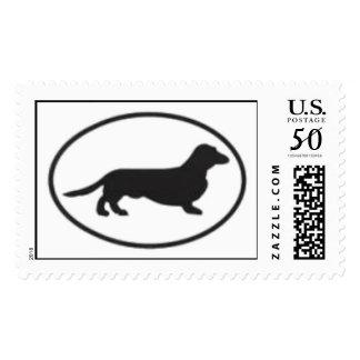 Dachshund Logo Stamp