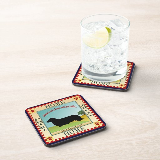 Dachshund [Long-haired] Coasters
