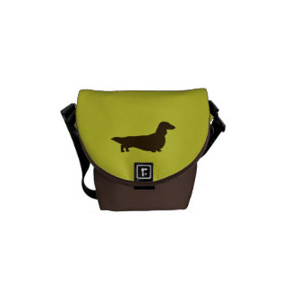 Dachshund (Long Haired) Courier Bag