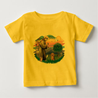 Dachshund (long haired sable) baby T-Shirt
