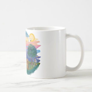 Dachshund (long haired sable) coffee mug