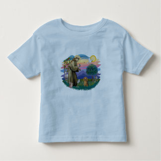 Dachshund (long haired sable) toddler t-shirt
