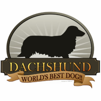 Dachshund [Long-haired] Statuette