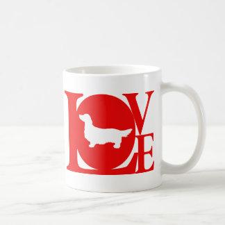 Dachshund Longhaired Classic White Coffee Mug