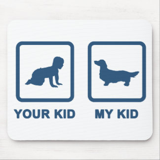 Dachshund Longhaired Mouse Pad
