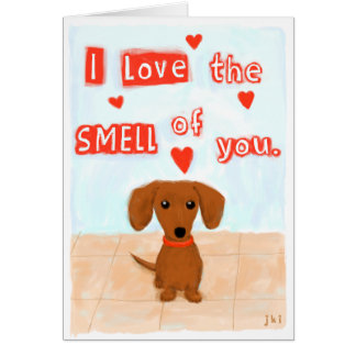 Dachshund Love Stationery Note Card