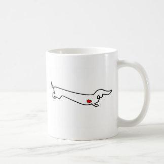 Dachshund Love Coffee Mug