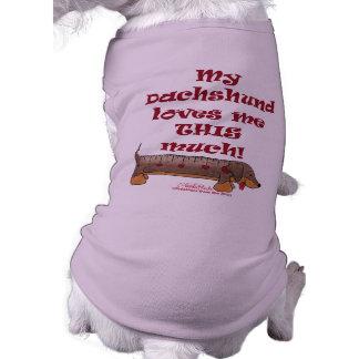 Dachshund Love Dog Shirt