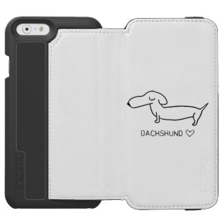 Dachshund Love iPhone 6/6s Wallet Case