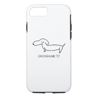 Dachshund Love iPhone 7 Case
