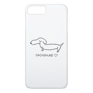 Dachshund Love iPhone 7 Plus Case