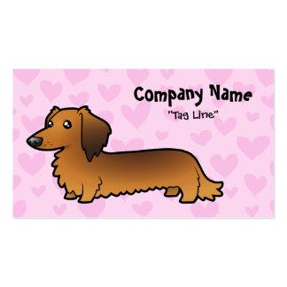 Dachshund Love (longhair) Business Card