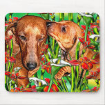 Dachshund Love Mouse Pad
