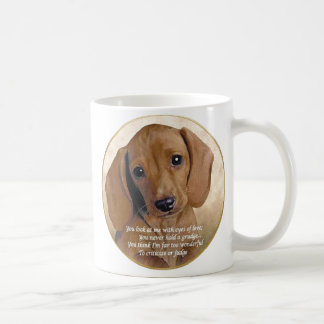 Dachshund Love Classic White Coffee Mug