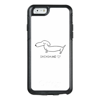 Dachshund Love OtterBox iPhone 6/6s Case