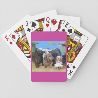 Dachshund Love Playing Cards