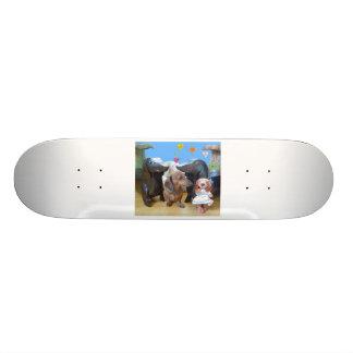 Dachshund Love Skateboard Deck