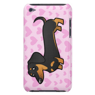 Dachshund Love (smooth coat) iPod Touch Cover