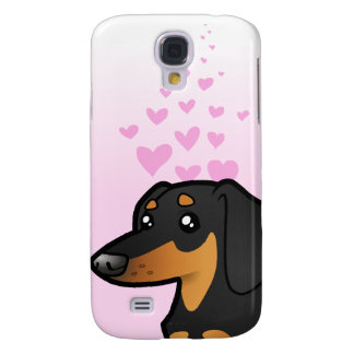 Dachshund Love (smooth coat) Samsung Galaxy S4 Case