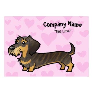 Dachshund Love (wirehair) Business Cards