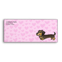 Dachshund Love (wirehair) Envelope