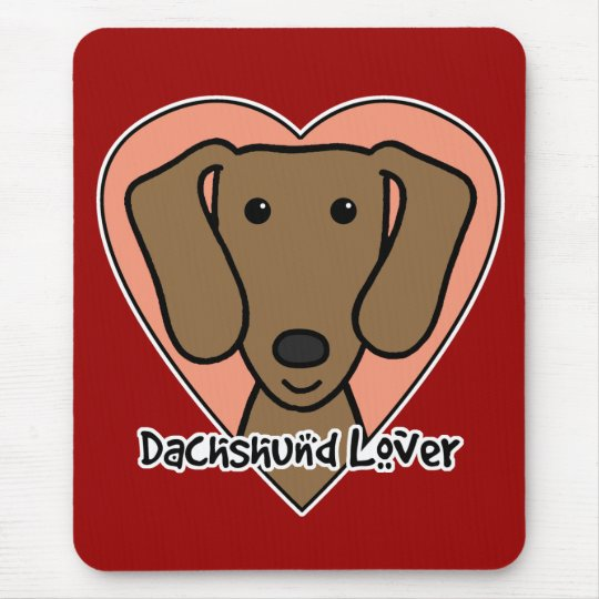 Dachshund Lover Mouse Pad