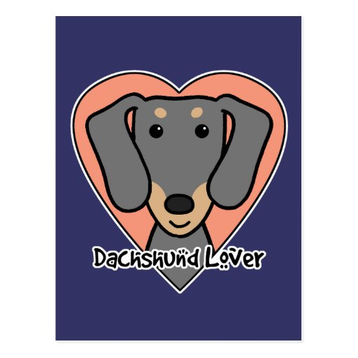Dachshund Lover Postcard