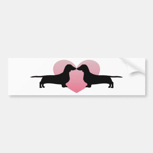 Dachshund Lovers Bumper Stickers