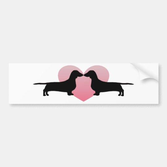 Dachshund Lovers Bumper Sticker