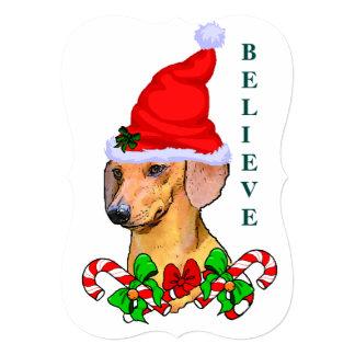 Dachshund Lovers  Christmas Card