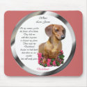 Dachshund Lovers Doxie mousepad