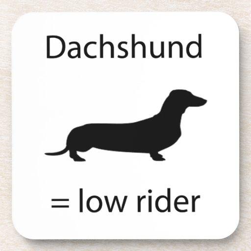 Dachshund = Lowrider Coasters