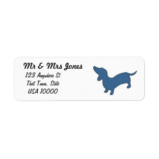 Dachshund Mailing Labels