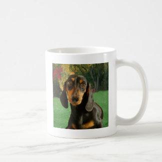 Dachshund ( Mini Brown Short Haired ) Coffee Mug