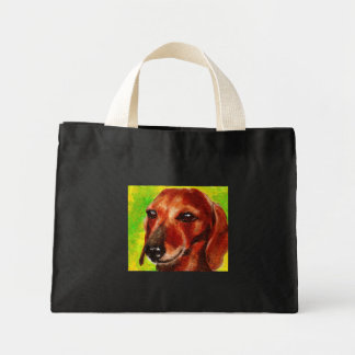 Dachshund Mini Tote Bag