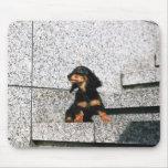 Dachshund miniatura 4 tapetes de ratón