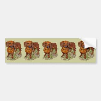Dachshund Miniature Gift Bumper Stickers