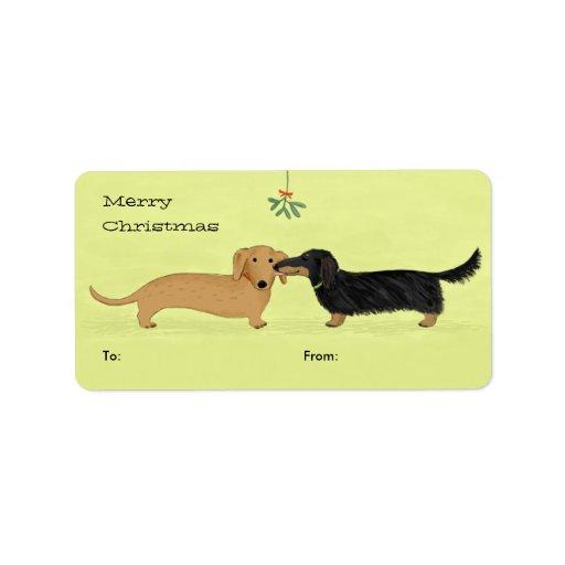 Wine Cat Dog Label