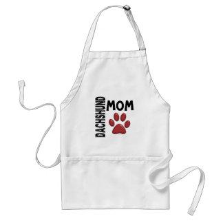 Dachshund Mom 2 Adult Apron